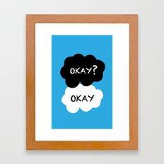 TFIOS - Okay Framed Art Print