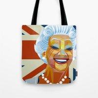Elizabeth II Tote Bag