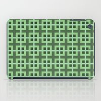 Pattern Green iPad Case