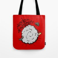 Napoleon Blownaparte Tote Bag