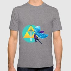 Faih, the Goddess Sword Mens Fitted Tee Tri-Grey SMALL