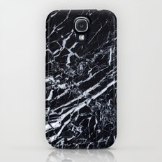 Real Marble Black Slim Case Galaxy S4