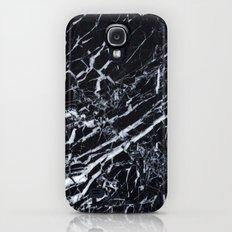Real Marble Black Slim Case Galaxy S4