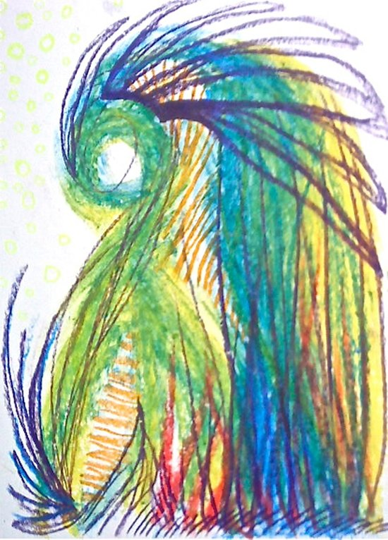 Psychic tea Canvas Print