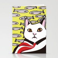 cat&fish Stationery Cards