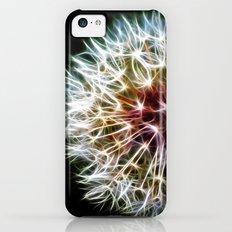 Fractal dandelion iPhone 5c Slim Case