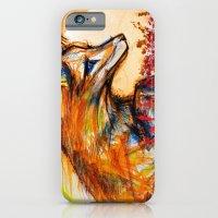 Fox in Sunset II iPhone 6 Slim Case