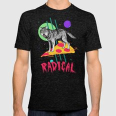 So Radical Mens Fitted Tee Tri-Black SMALL