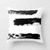 Brush 02 Throw Pillow