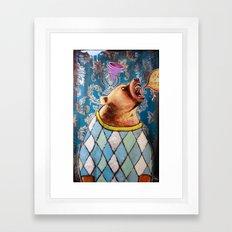 Apex in Argyle Framed Art Print