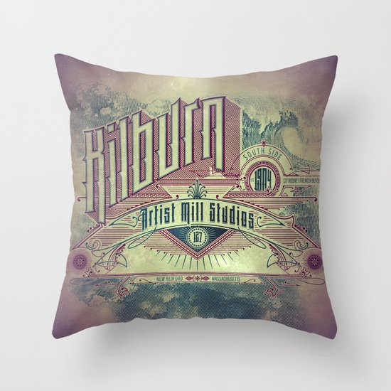 Kilburn Mill Studios Throw Pillow