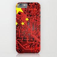 Circuit Board Flag (Chin… iPhone 6 Slim Case
