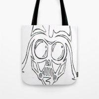 Baby Vader Tote Bag