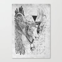 HOLY_COW Canvas Print