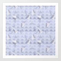Floral Lace Collection -… Art Print