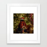 Merry Christams To All!  Framed Art Print