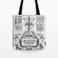 Legend Of Zelda Vintage … Tote Bag