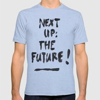 The Future Mens Fitted Tee Athletic Blue SMALL