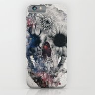 iPhone & iPod Case featuring Floral Skull 2 by Ali GULEC