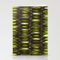 Painted and digital khaki pattern Stationery Cards