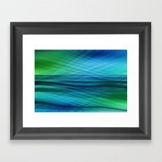 data flow Framed Art Print
