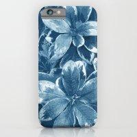 My blue leaves iPhone 6 Slim Case