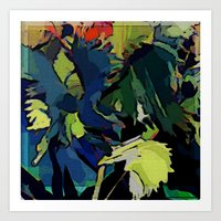 Garden Colors Art Print