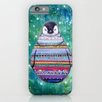 penguin iPhone & iPod Cases featuring penguin by beart24