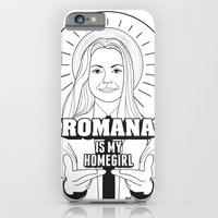 iPhone & iPod Case featuring Romana Is My Homegirl by rachelle abellar