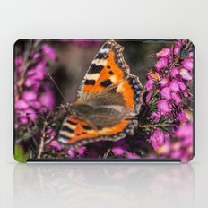 Tortoiseshell On Purple iPad Case