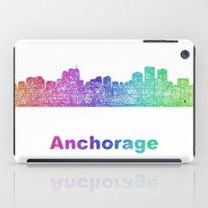 Rainbow Anchorage skyline iPad Case