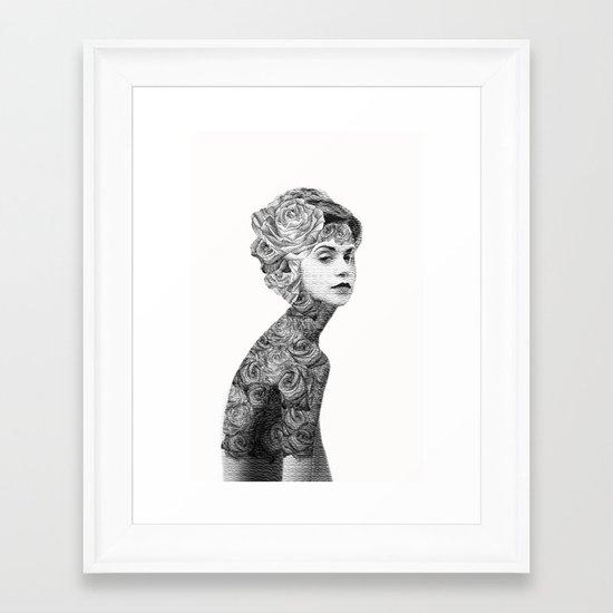Rose #2 - Part 2 Framed Art Print