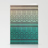 Pixel Pattern Stationery Cards