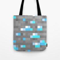 Mined Diamond Block Ever… Tote Bag