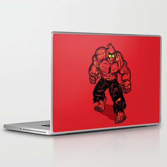Angry Bird hulk Red Laptop & iPad Skin
