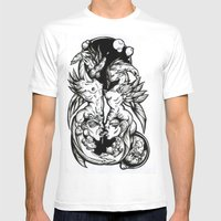 Sea-Horses Mens Fitted Tee White SMALL