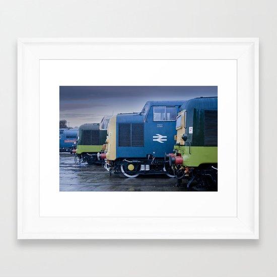 Deltic Deliverance Framed Art Print