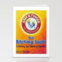 Arm & Finger Bitching Soda Stationery Cards
