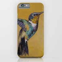 iPhone & iPod Case featuring Hummingbird by Michael Creese