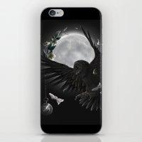 solar owls moon  iPhone & iPod Skin