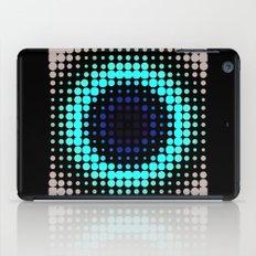 Breathing bullseye in Red iPad Case