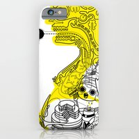 iPhone & iPod Case featuring Cake For Two by Stephen Chan