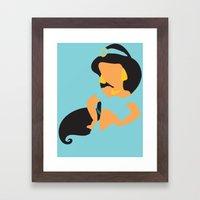 Jasmine - Aladdin Framed Art Print