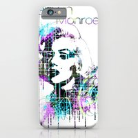 iPhone & iPod Case featuring Marilyn Monroe by Zoé Rikardo