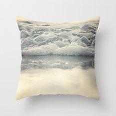 Beach Days Throw Pillow