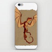 Here be dragons iPhone & iPod Skin