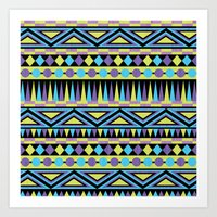 Pattern Playtime Art Print