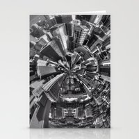 Chicago little planet Stationery Cards