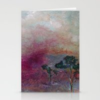 Dustbowl Sunset Stationery Cards
