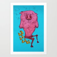 The Dancing And Disabled… Art Print